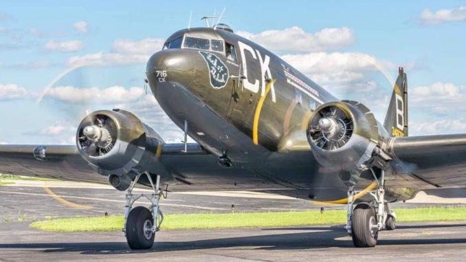 "C-47 ""Luck Of The Irish"" | Warbirds News"