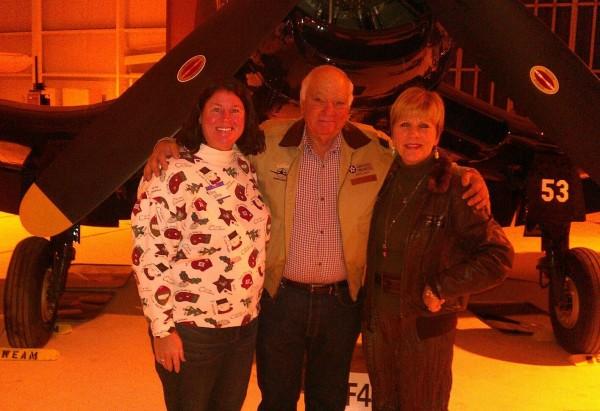 Elena, Frank Arrufat and Kathleen.