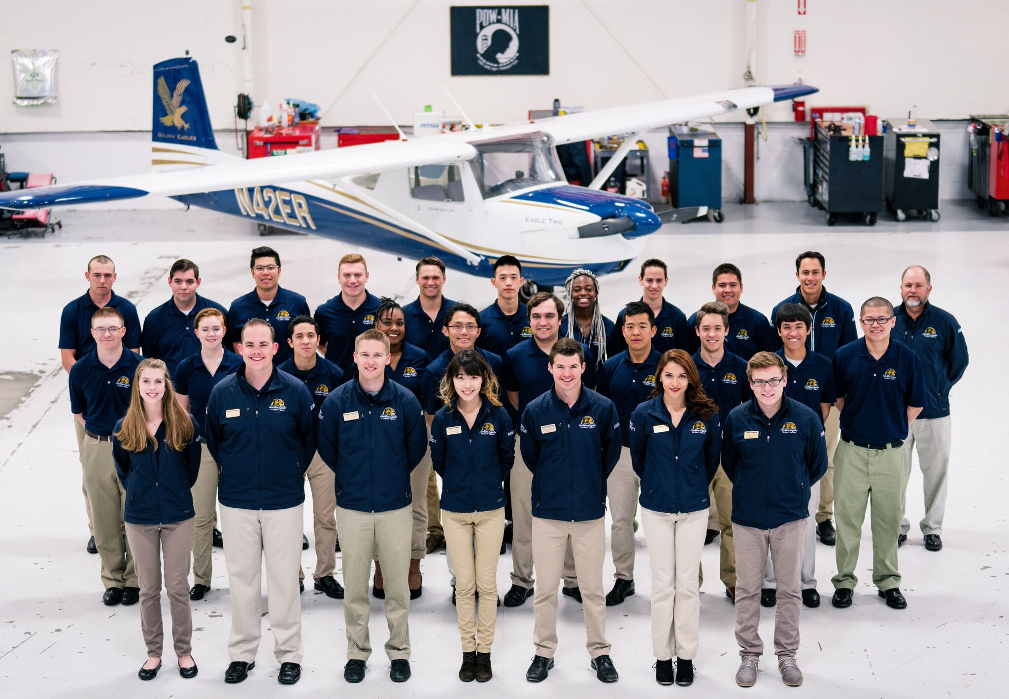 Embry-Riddle's Golden Eagles Flight Team