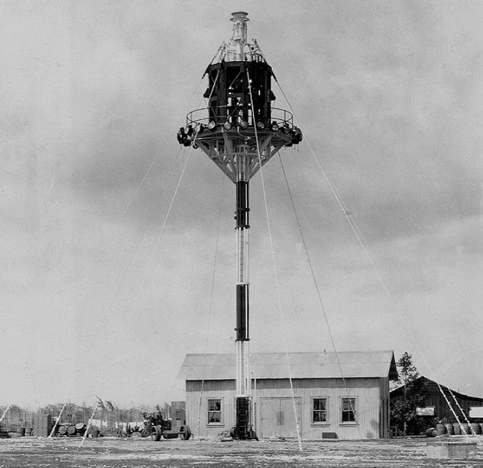 In 1932, Ewa's mooring mast was shortened to 50-feet, yet was still never used by any airship.