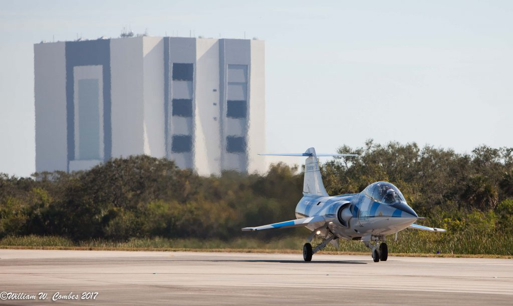 F-104 Flight Training Launches at Florida's Kennedy Space Center
