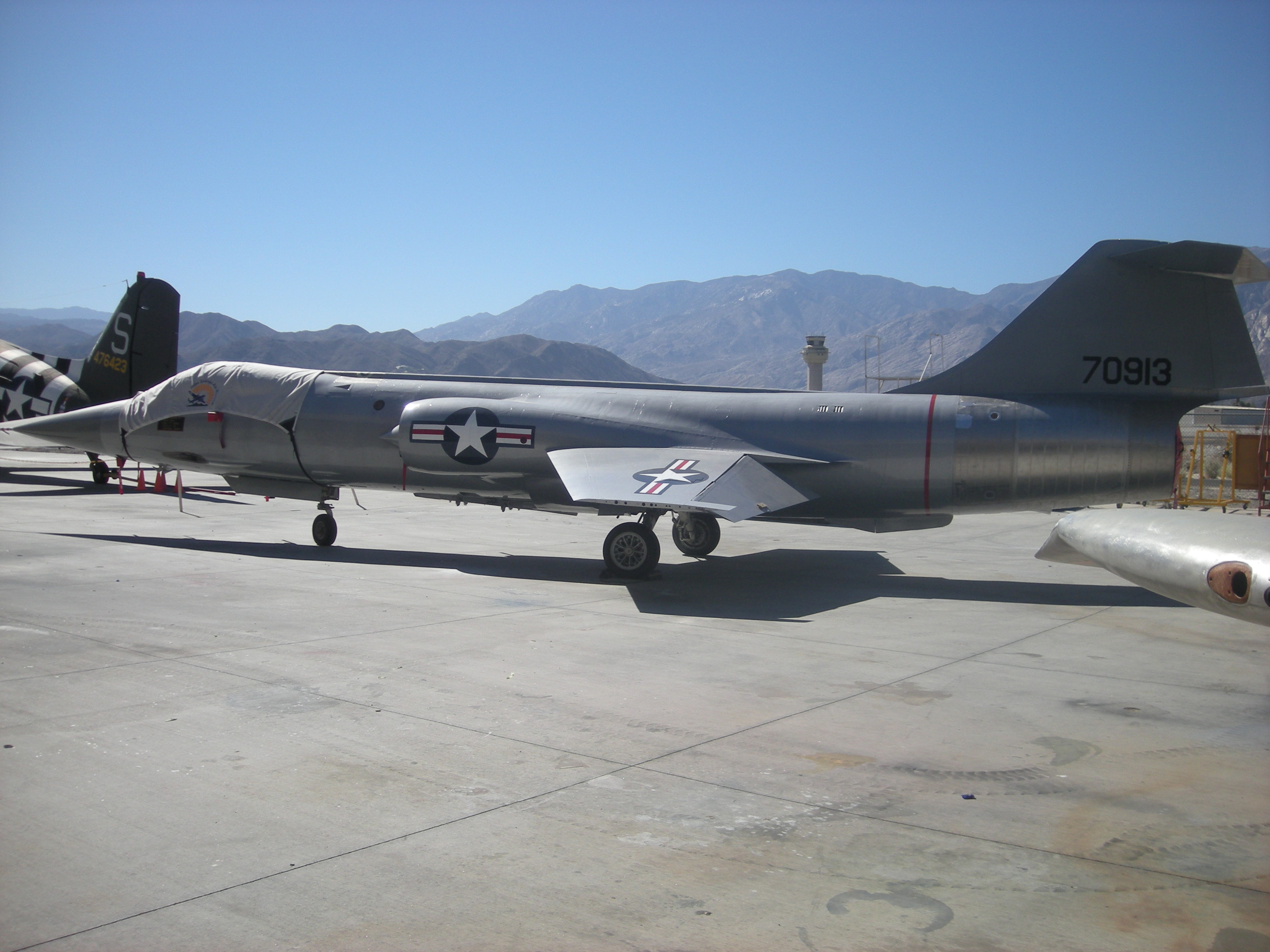 F-104 Starfighter_ Palm Springs Air Museum