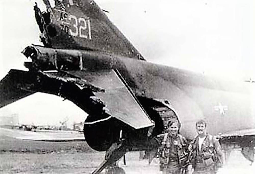 Fredric Bryant served at Hahn Air Force Base in Germany repairing and refurbishing F-4 Phantom, Wild Weasles damaged in Vietnam (Photo via Pete Mecca)