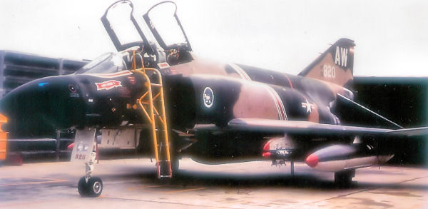 F-4C of the 389th Tactical Fighter Squadron - DaNang Air Base, South Vietnam.