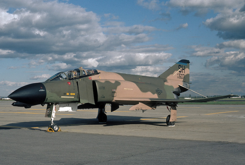 F-4D 66-6507 - 465th TFS - Photo Credit - David F. Brown Collection