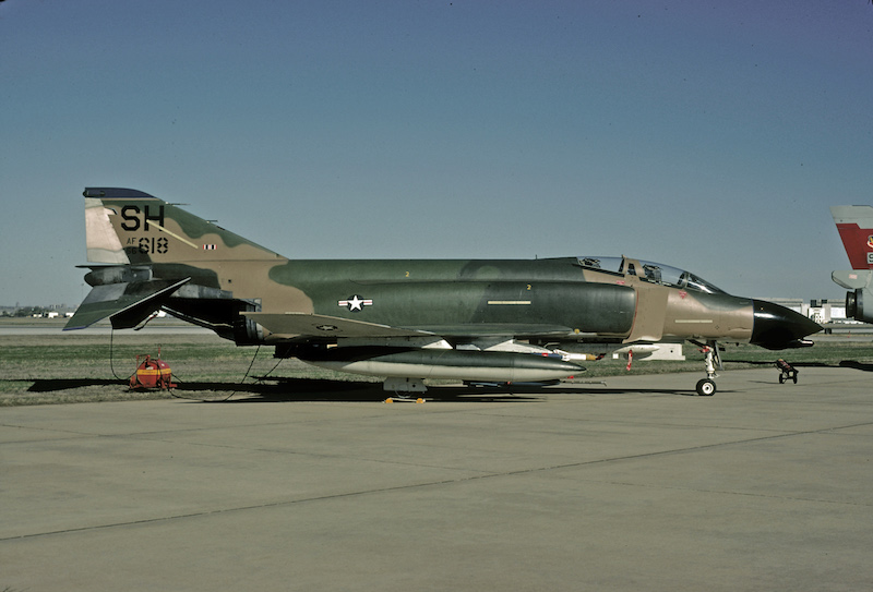 F-4D 66-7618 - 507th TFS April 5, 1981 Photographer - Peter Wilson via David F. Brown