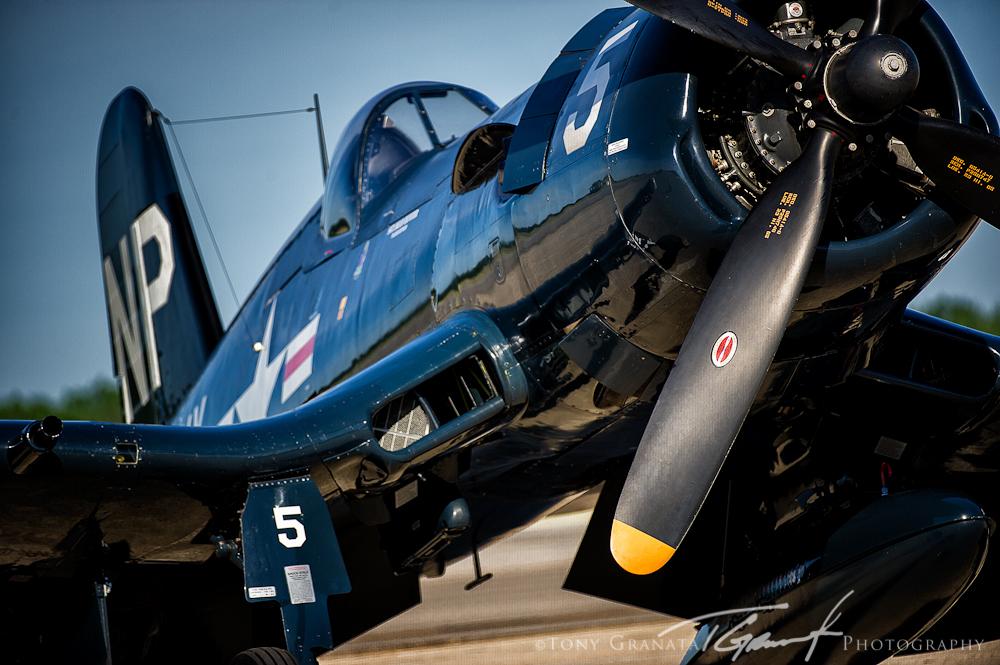 F4U-5 Corsair (Photo by Tony Granata)