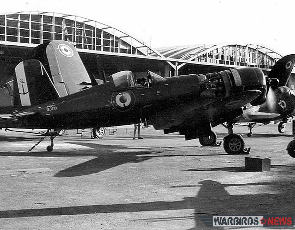 F4U-7 Bu.133710 at NAS Karouba, circa 1953. (photo Claude Requi)