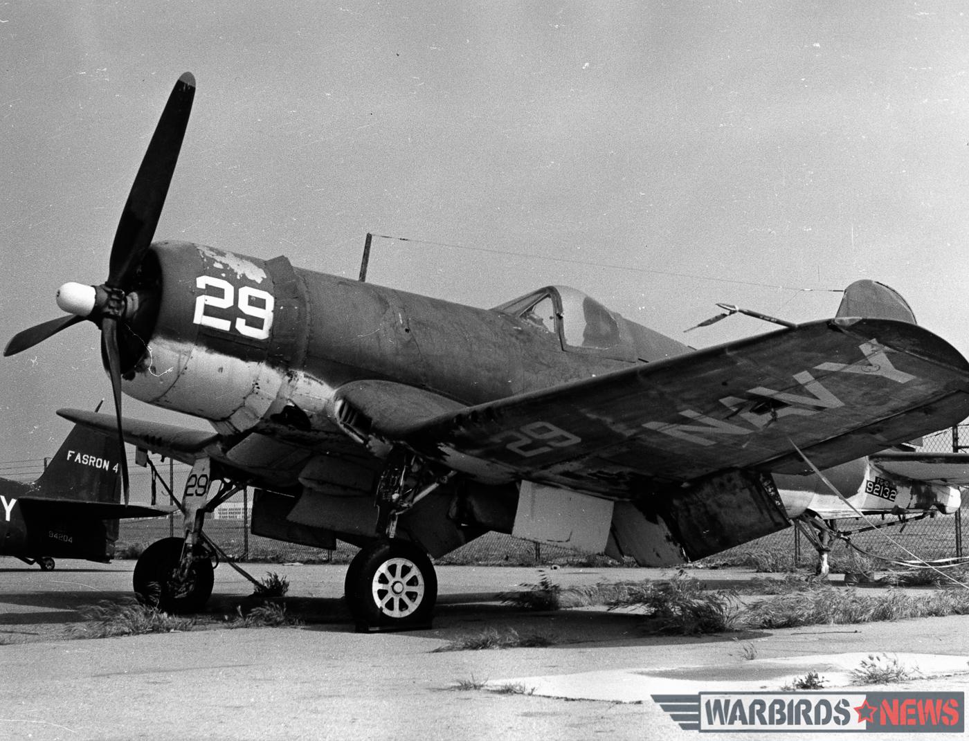 FG-1D 92132 at The Air Museum, Ontario, CA circa-1962. (Jim Sullivan Collection)