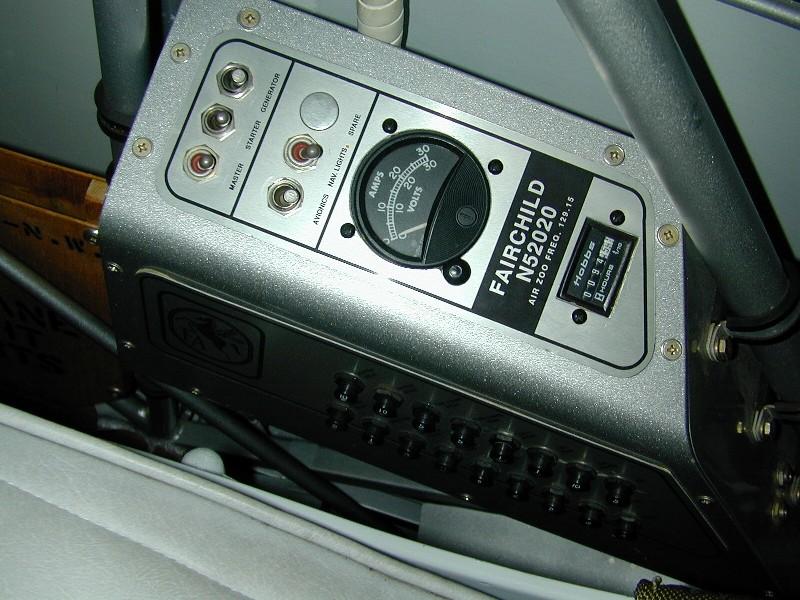 Fairchild PT-23HO_N52020 (5)_Electrical Panel_Front Cockpit