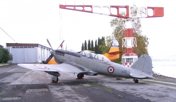 Fiat G.59 MM 53276 awaiting restoration (Italian Air Force Museum photo)