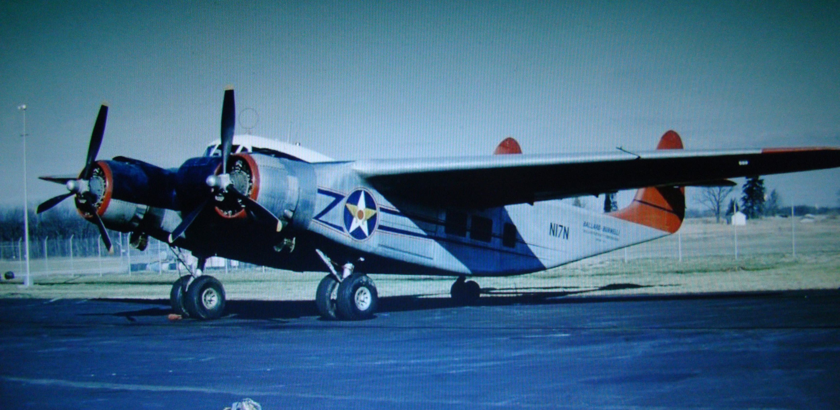 The Loadmaster's future color scheme once she is fully restored. (photo via NEAM)