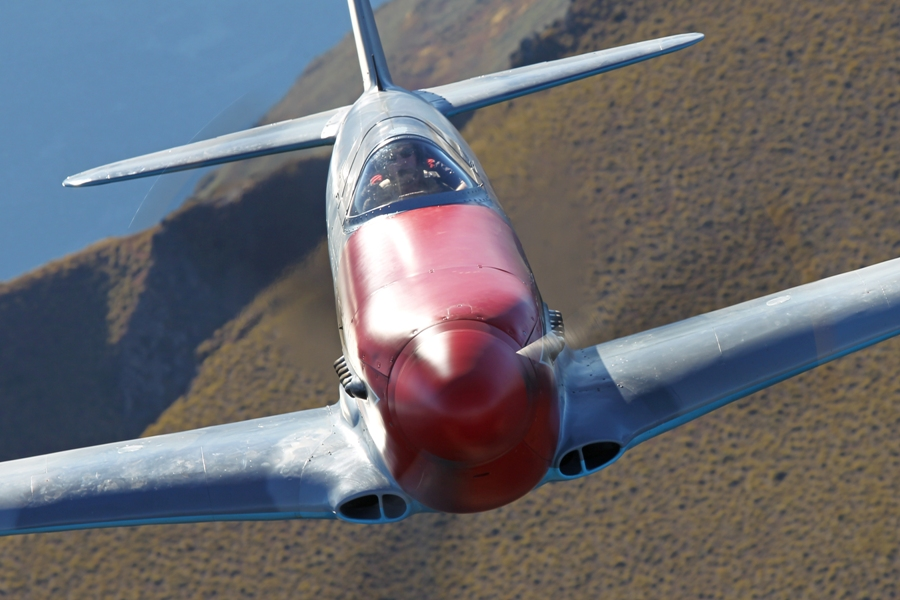 YAK 3 at WOW 2012.  (Photo by Gavin Conroy)