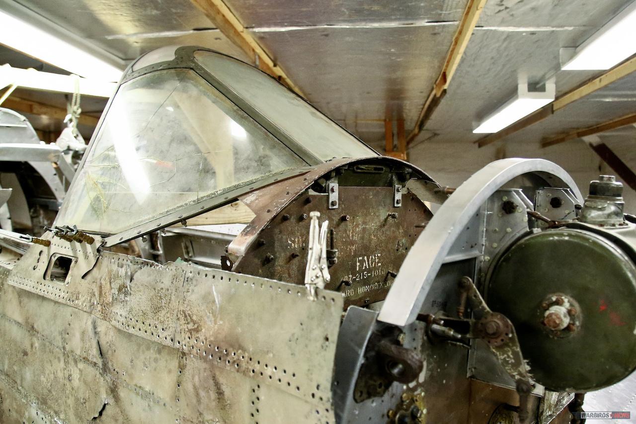GLENN H. CURTISS MUSEUM P-40 RESTORATION _By Warbirds News7
