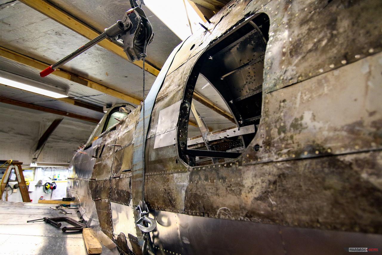 GLENN H. CURTISS MUSEUM P-40 RESTORATION _By Warbirds News9