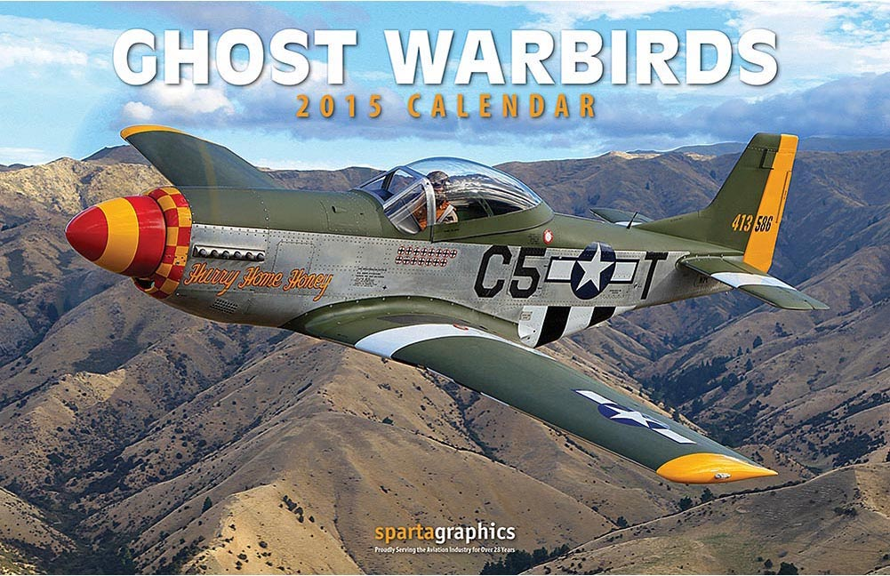 Ghost Warbirds 2015 Calendar
