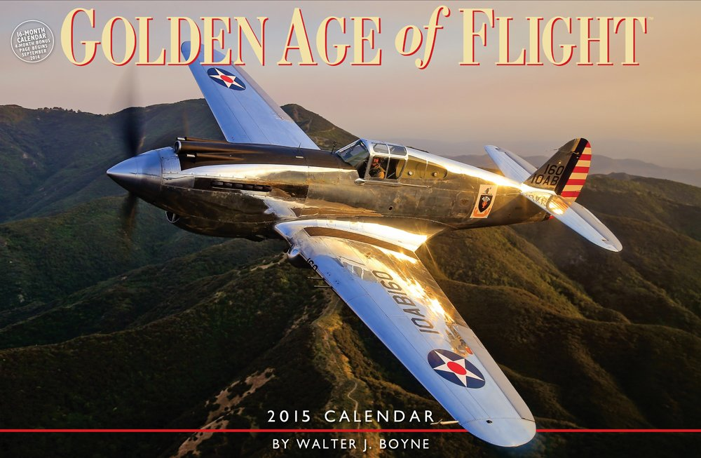 Golden Age of Flight 2015 Calendar
