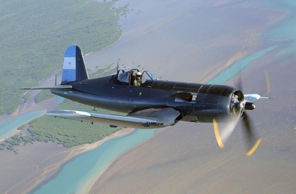 Graham Hosking's F4U-5N Corsair