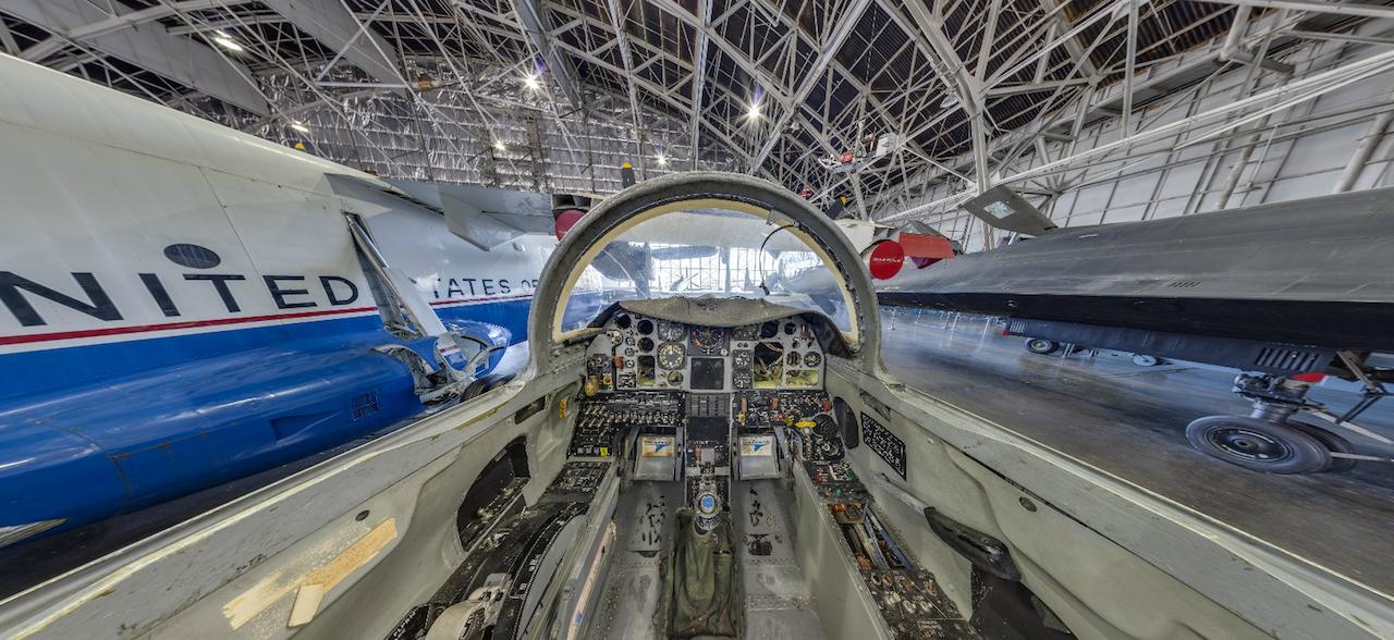 Grumman X-29A Cockpit copy