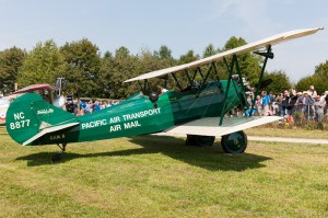 Travel Air Biplane in Pacific Air Transport livery (Image Credit: Andreas Zeitler)