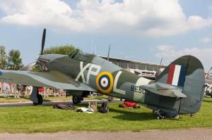 Hangar 11's Hawker Hurricane (Image Credit: Andreas Zeitler)