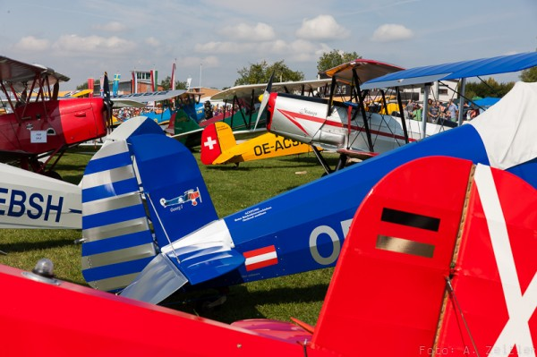 Hahnweide Oldtimer Fliegertreffen is a riot of antique aircraft sights, sounds and smells. (Image Credit: Andreas Zeitler)