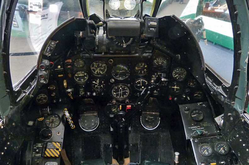 Hawker Hunter F4 Cockpit