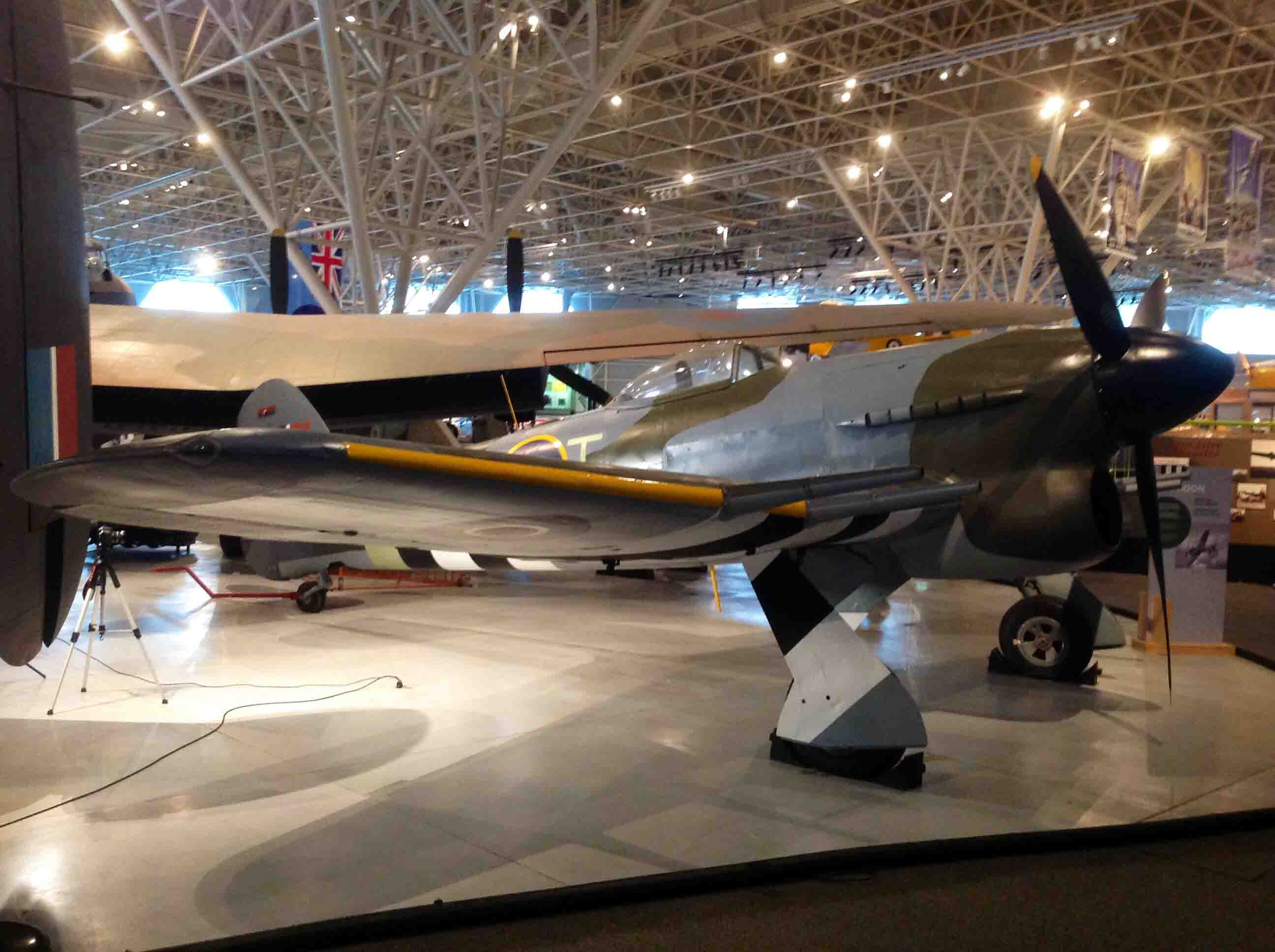 Hawker Typhoon at Canada Aviation and Space Museum