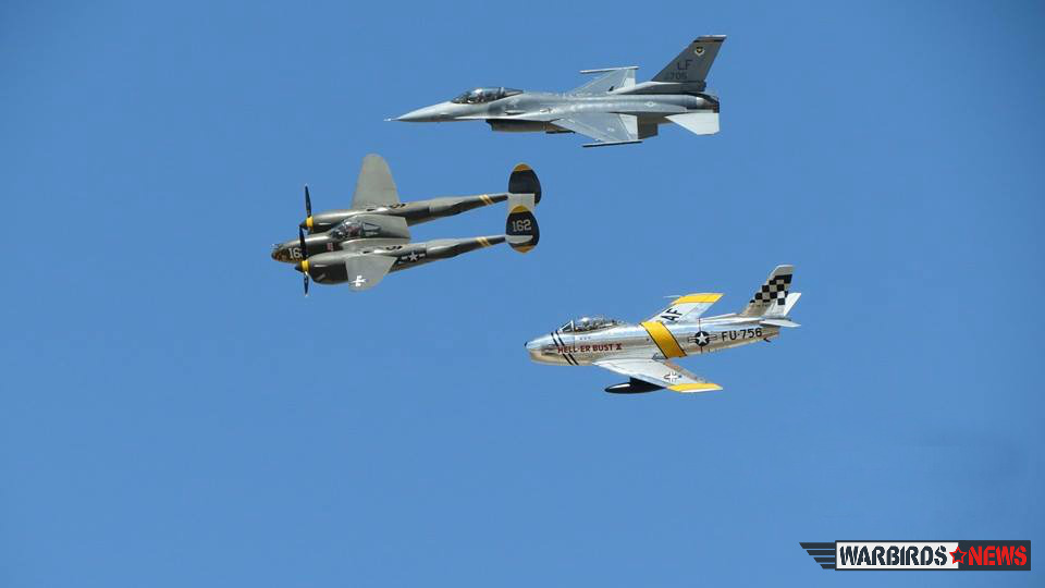 The Heritage Flight returns to air show performances across the country following suspension during the sequester dilemma of 2013. (photo by Elena DePree)