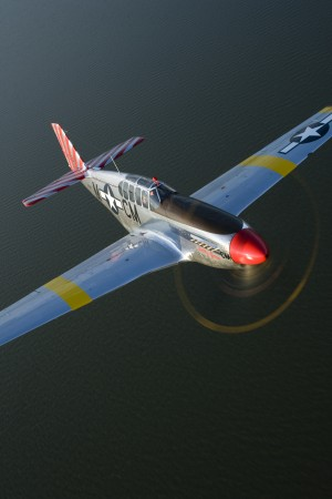 The Collings Foundation ownsf the world's only dual control P-51C Mustang