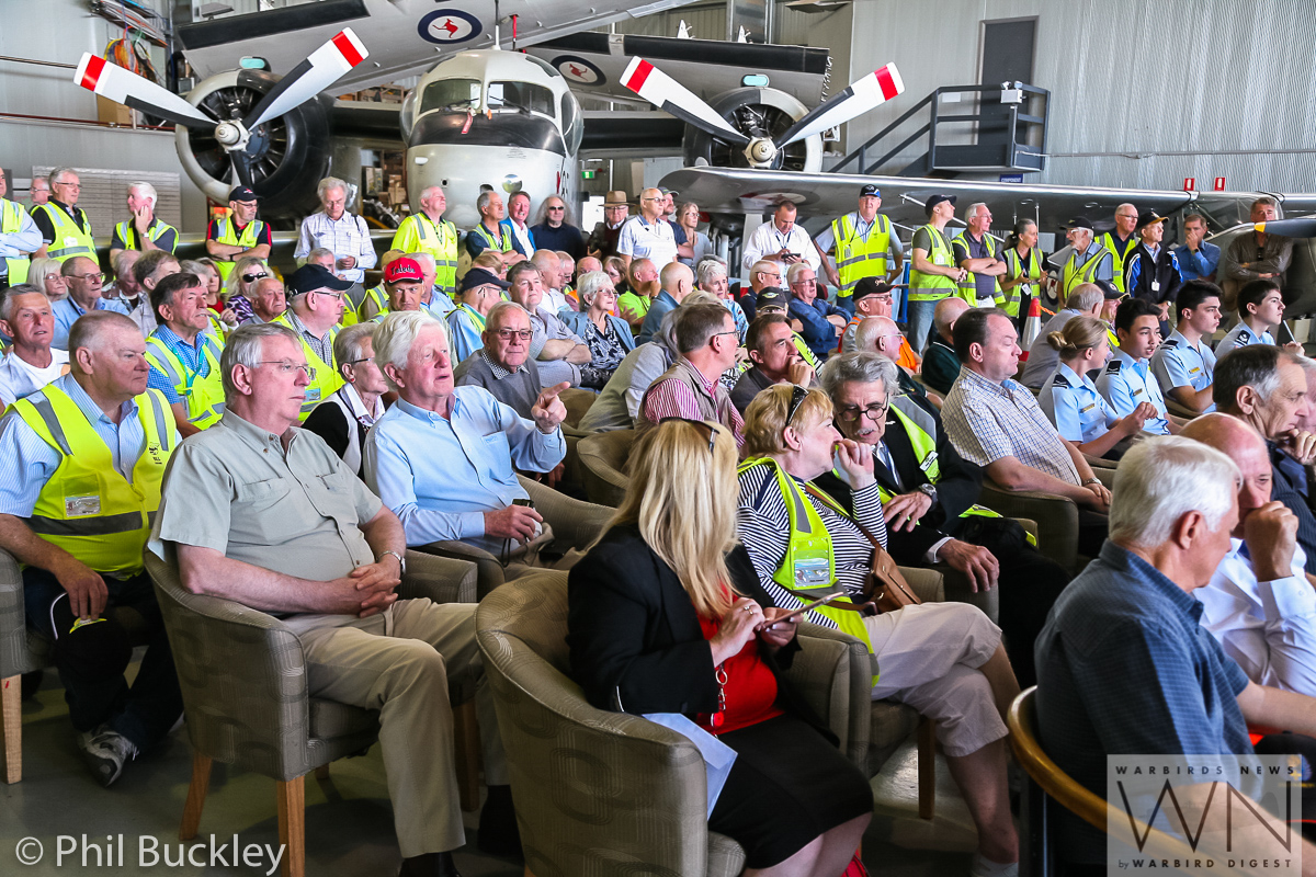 Some of the many people in the audience during the handover ceremony. (photo by Phil Buckley)
