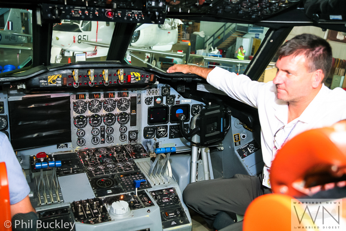 The cockpit of HARS Orion looks brand new and well maintained. (photo by Phil Buckley)