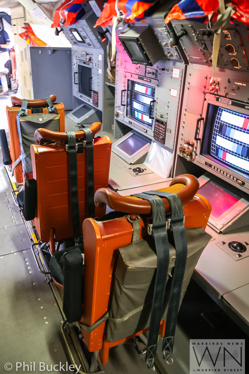 More work stations within the Orion's fuselage. (photo by Phil Buckley)