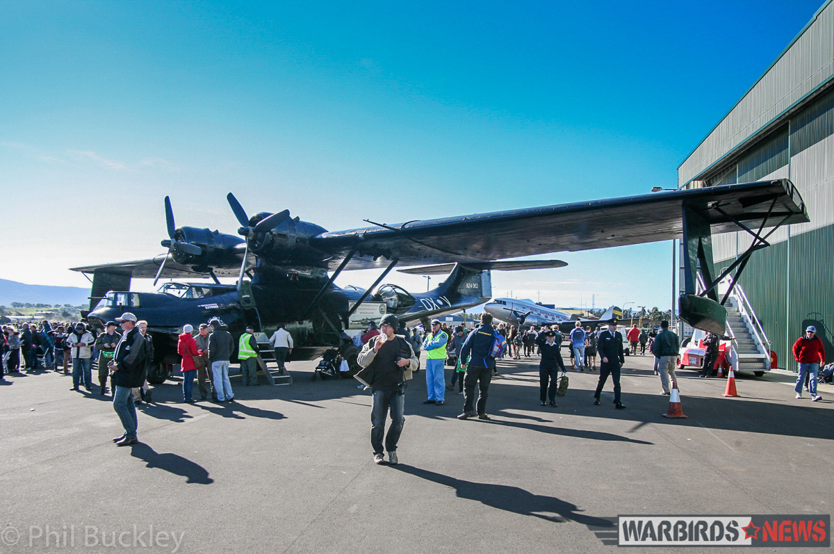 HARS 'Black Cat' Catalina. (photo by Phil Buckley)
