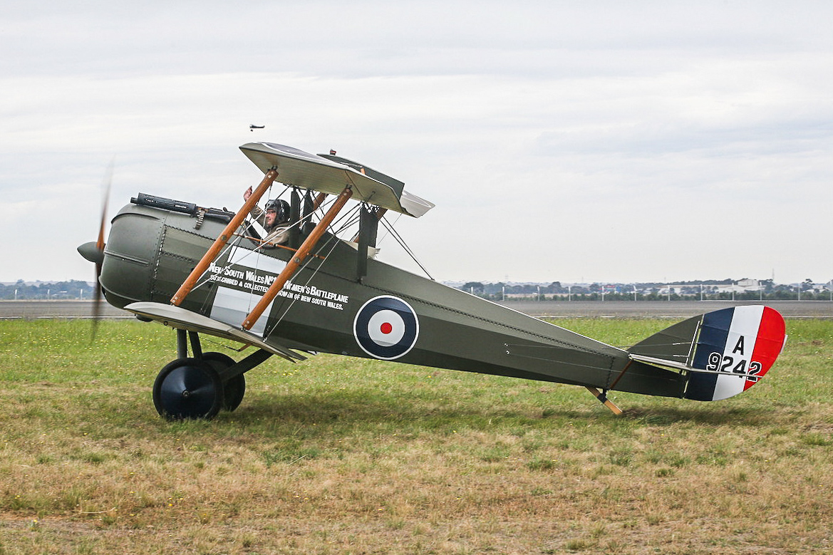 The Airco dH5. (Andrew McLennan photo)