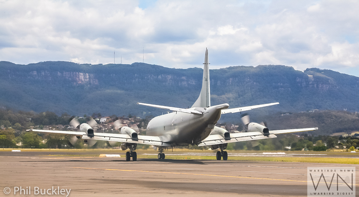 RAAF AP-3C Orion A9-659 taxiing out for takeoff. (photo by Phil Buckley)