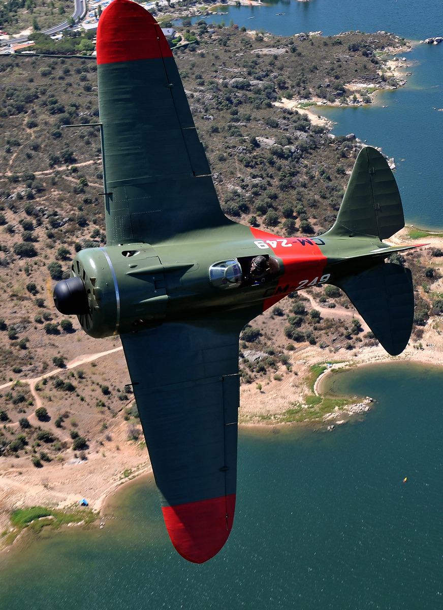 FIO's restored Mosca on a flight over Spain.