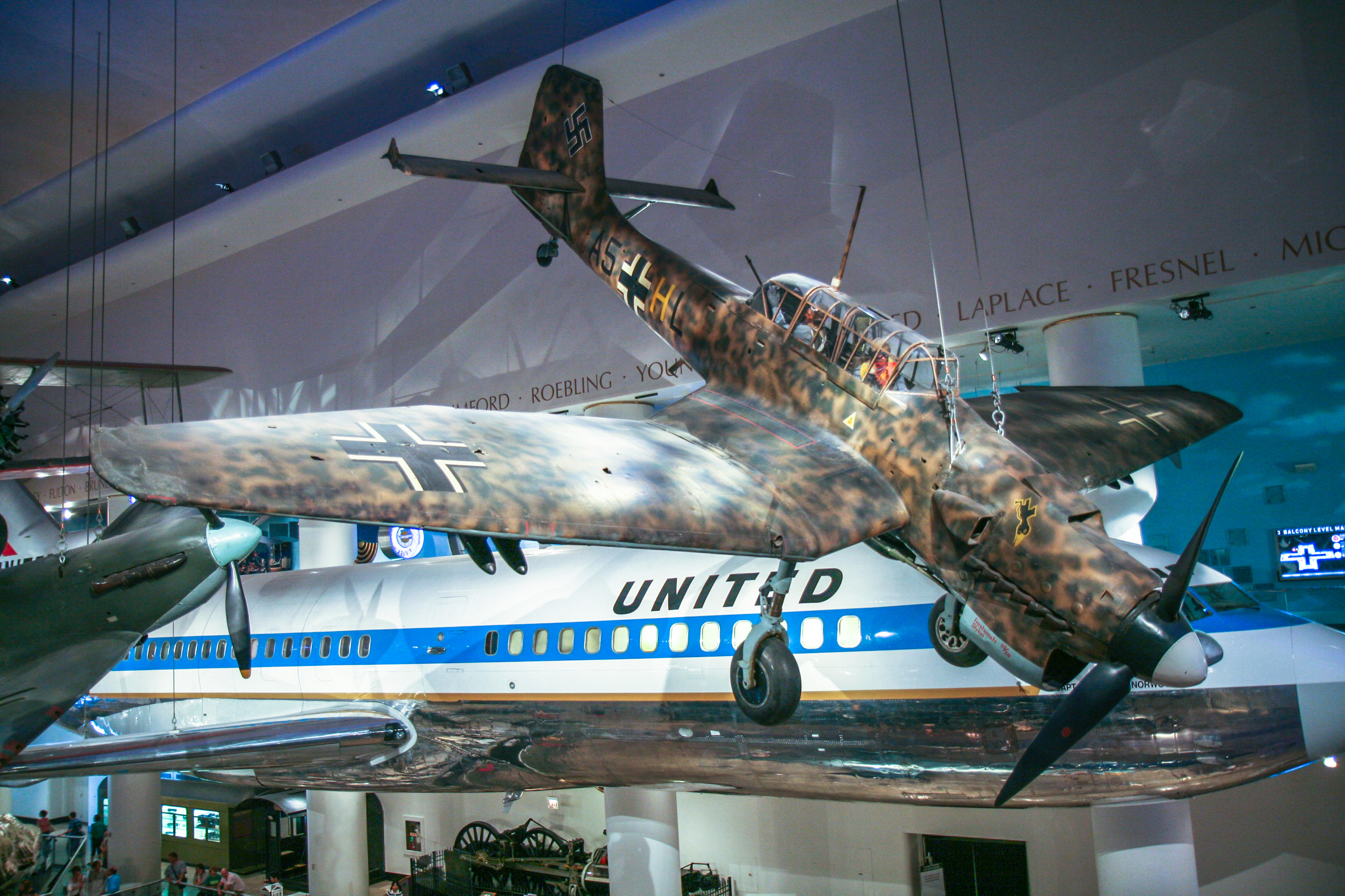 The Junkers Ju 87 on display in the Museum of Science and Industry in Chicago.(Photo Credit - William brain - CC BY-SA 3.0)