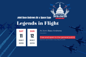 Joint Base Andrews Air & Space Expo Legends in Flight