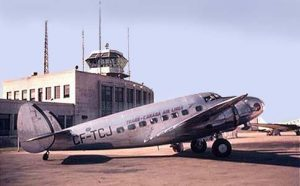 Trans Canada Airlines Lockheed Model 14 Super Electra in 1938