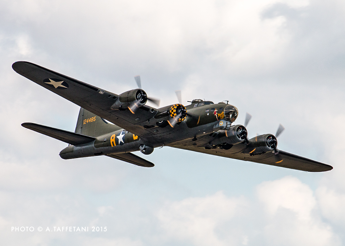 B-17G 'Sally B' has flown on the air show circuit for over forty years! (photo by Alessandro Taffetani)