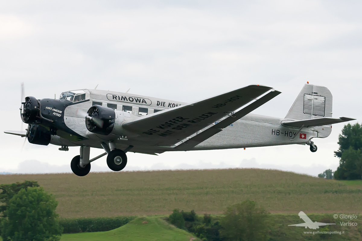 A Swiss Junkers Ju-52. (photo by Giorgio Varisco)