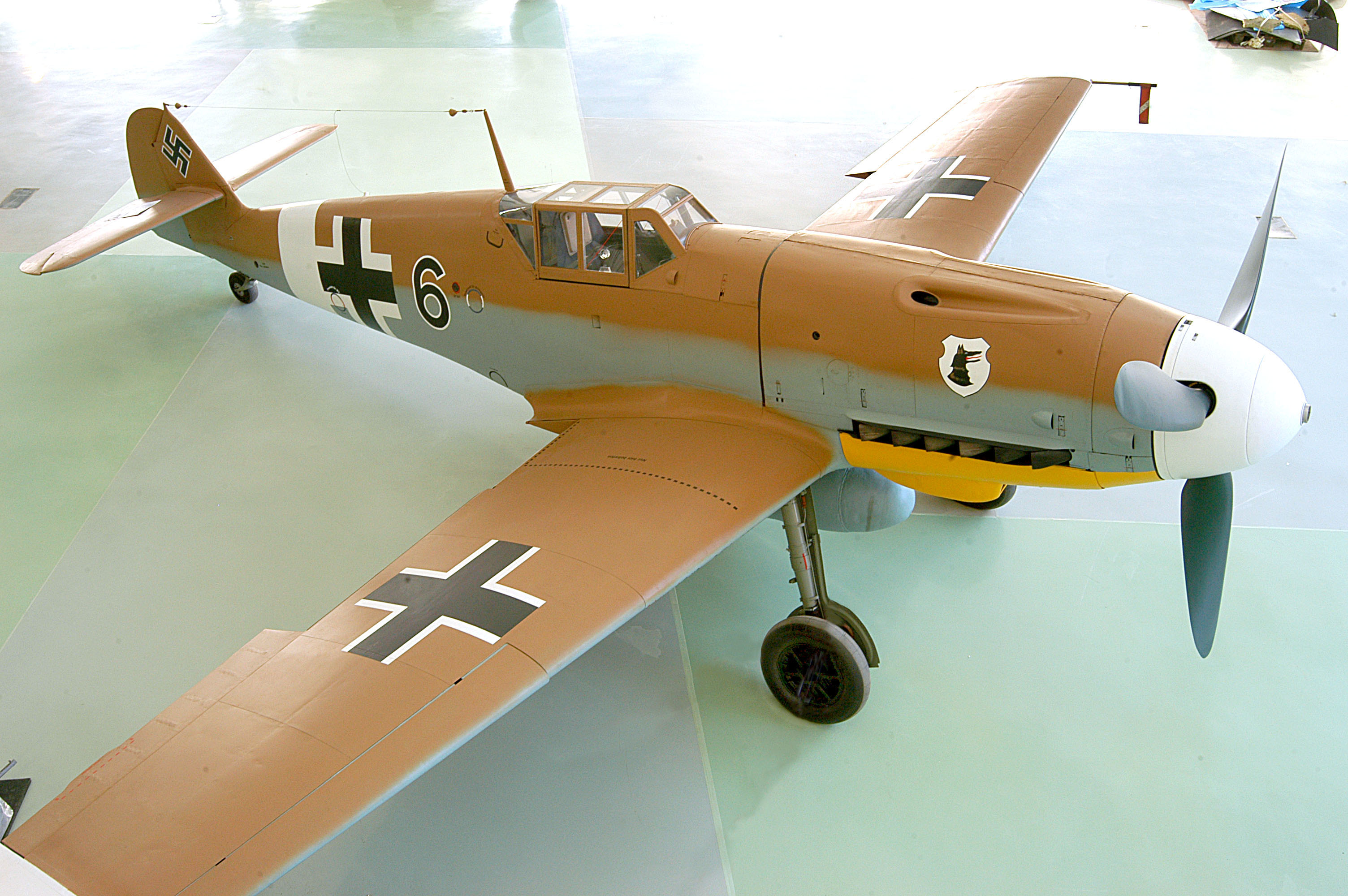 The rare Messerschmitt BF109G-2