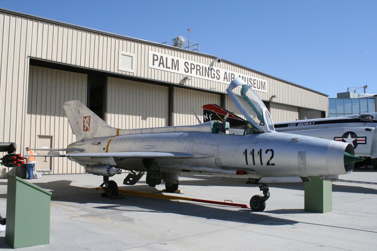 MiG 21 at PSAM copy
