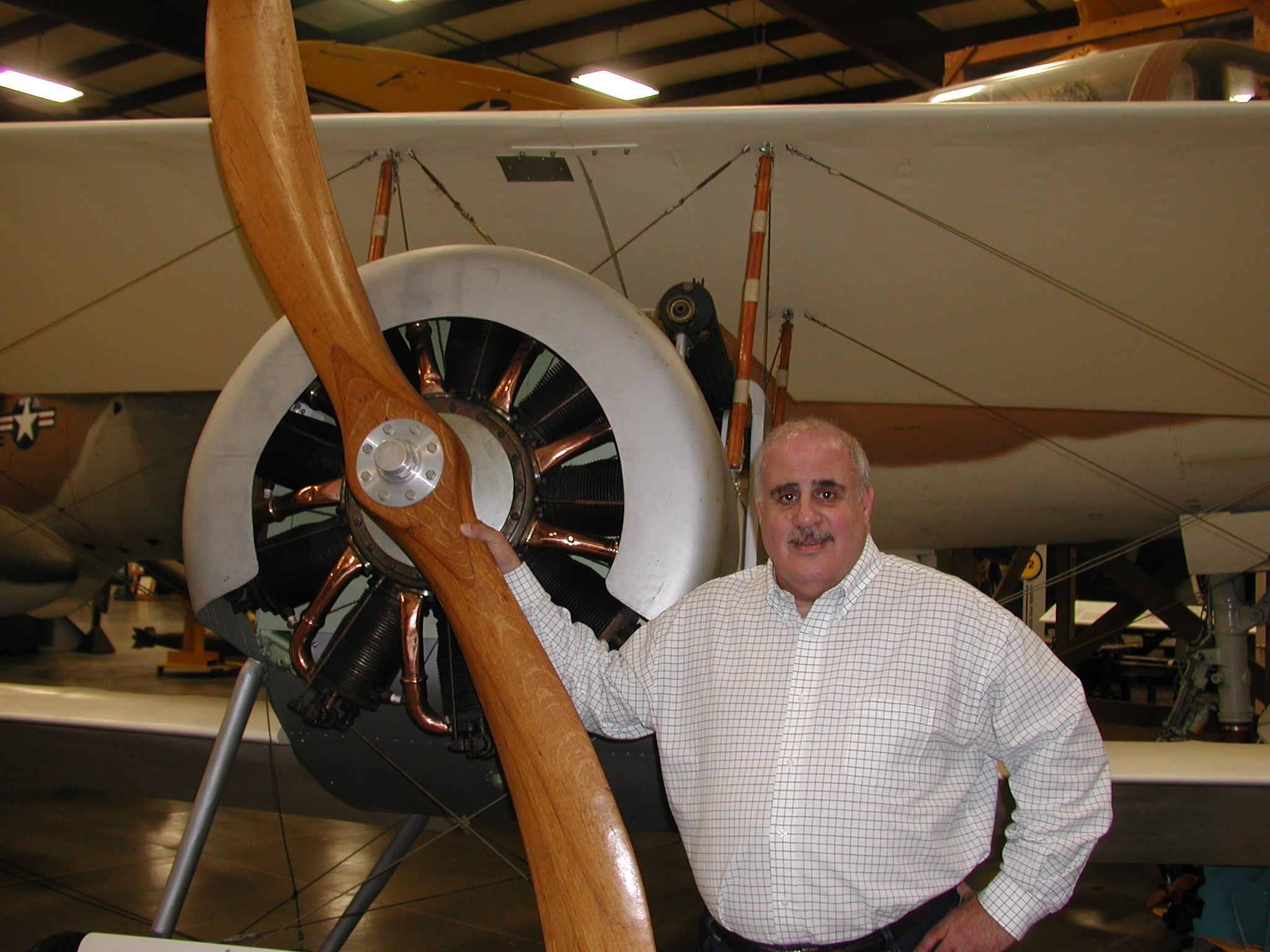 Michael P. Speciale, Executive Director of the New England Air Museum (NEAM)