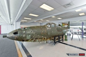 "Ex-Soviet Air Force Bell P-39 Airacobra, the museum has affectionately named ""Miss Lend Lease"" (Image Credit: Niagara Aerospace Museum)"