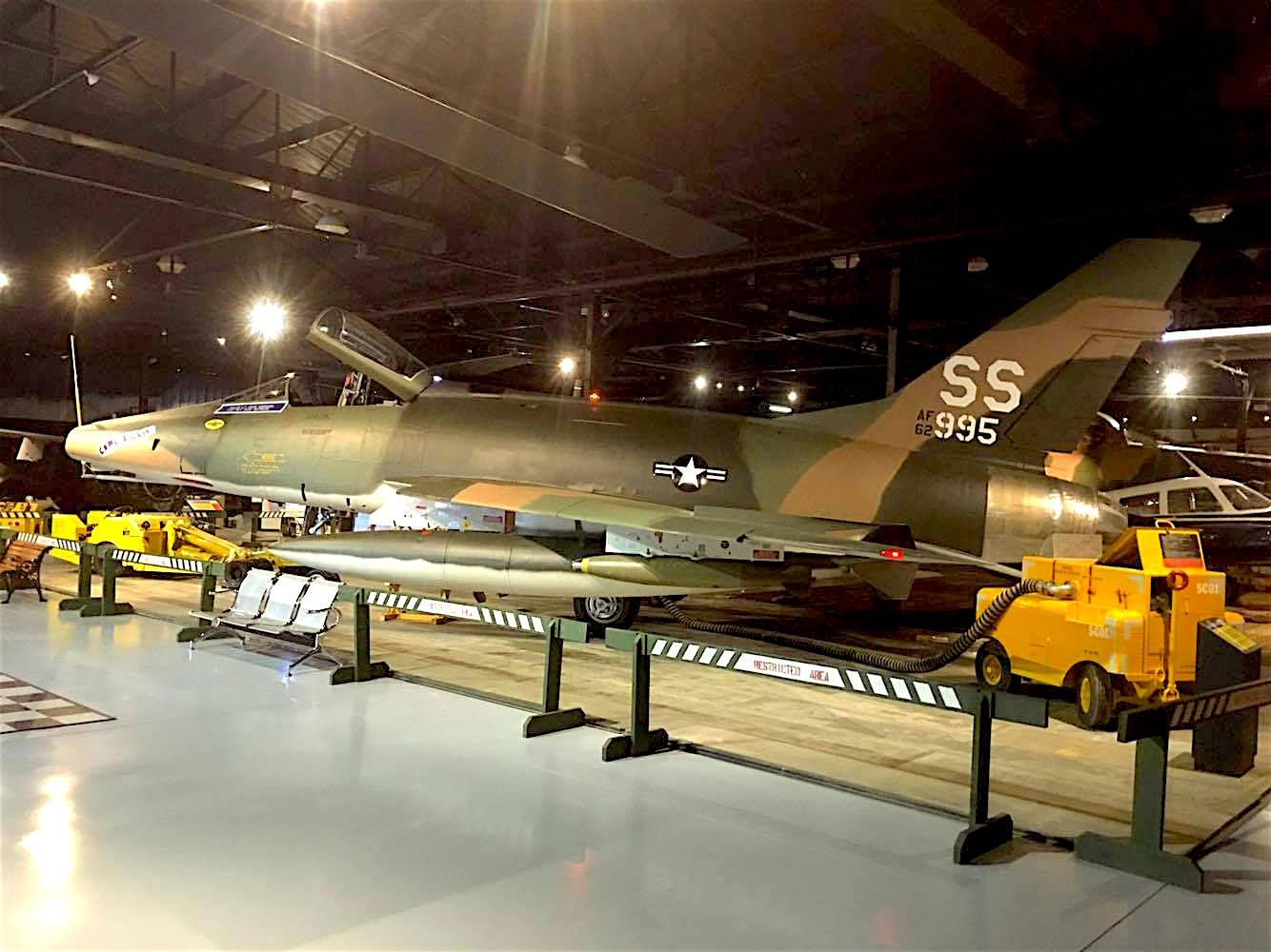 Museum of Aviation F-100 Super Sabre