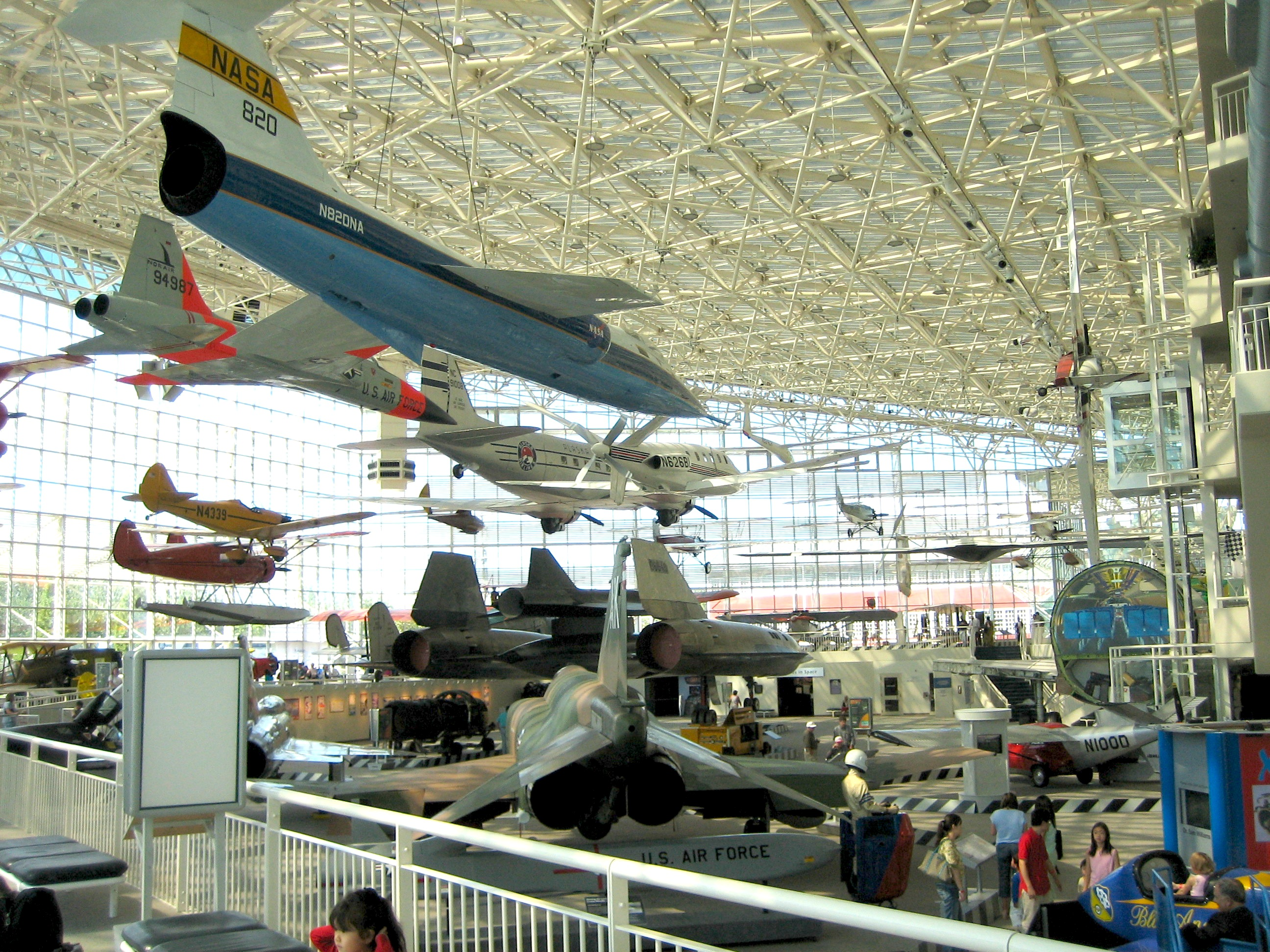 The main display area of the Museum of Flight, located at Boeing Field, Seattle, Washington. (Photo via Wikipedia)