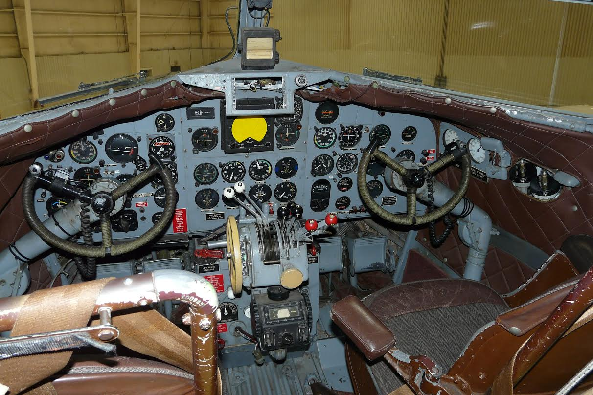 N34 Cockpit - Photo: Gary Jones