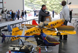Check out the state of the art in RC model planes (Image Credit: New England Air Museum)